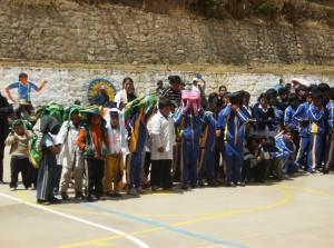 Apoyo a centros escolares Escuela Cocapata 2 Bolivia