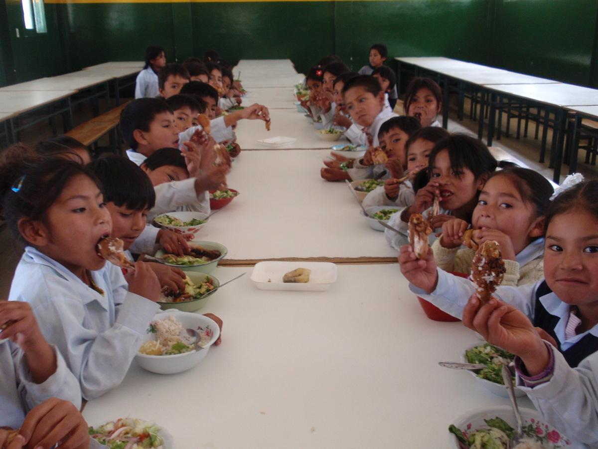 Comedor de Anzaldo (Bolivia) « ITAKA