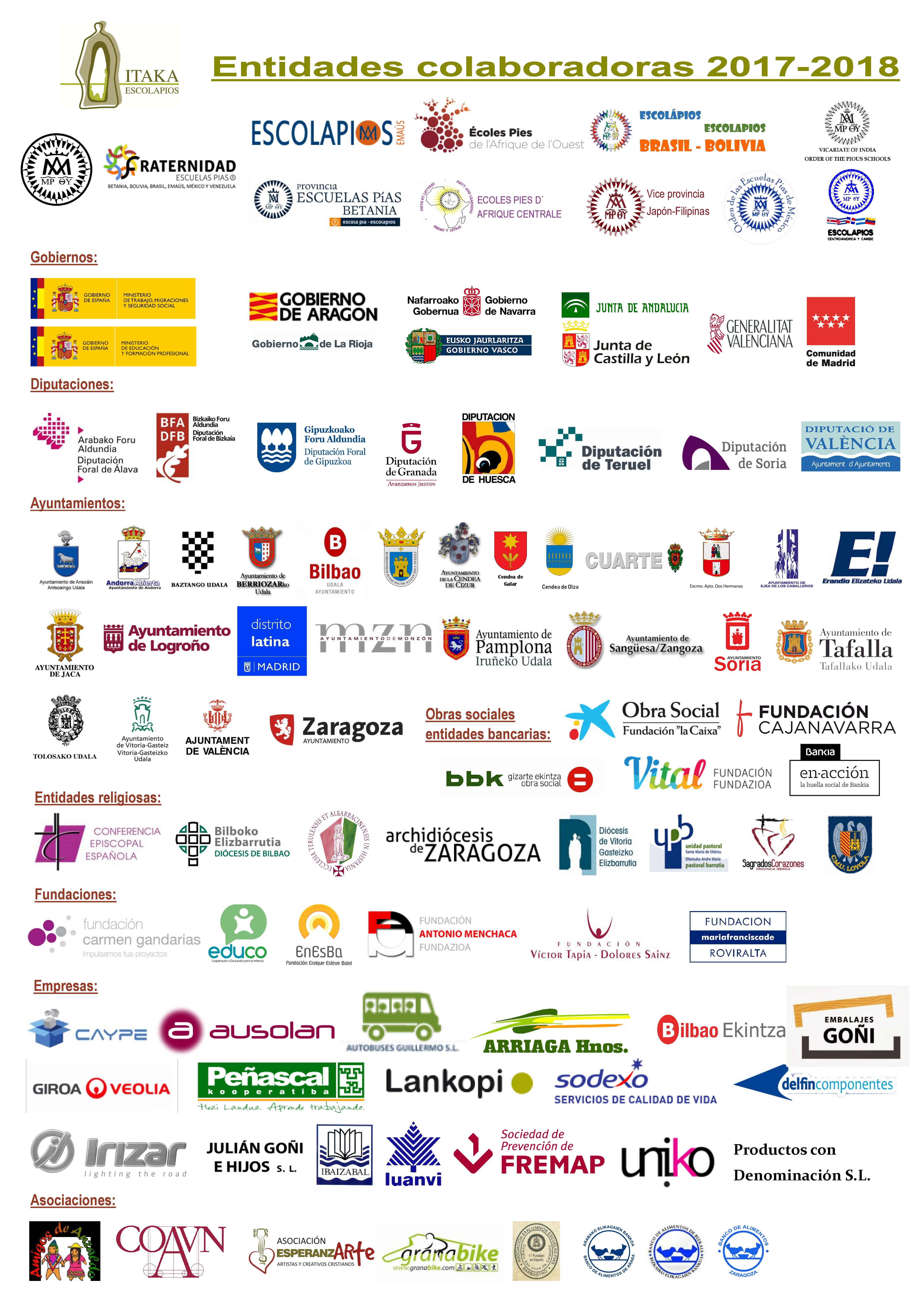 entidades amigas 2017-2018