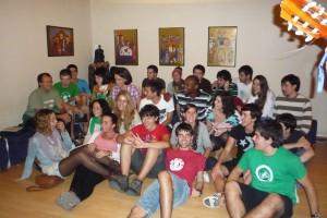 Grupos de catecumenado en la capilla