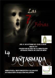 Cartel FANTASMADA2013