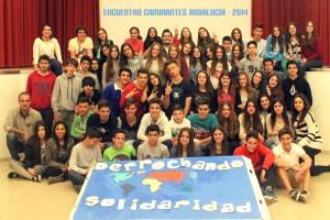 """En el encuentro de Granada, """"Derrochando solidaridad"""""""