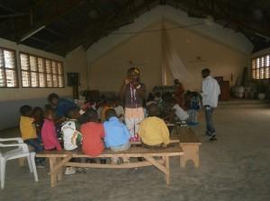 En actividad con los voluntari@s escolapi@s