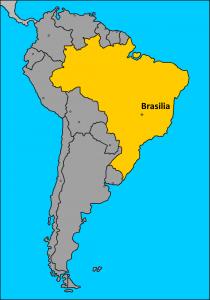Brasil en Sudamérica