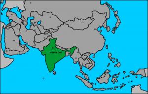 India en Asia