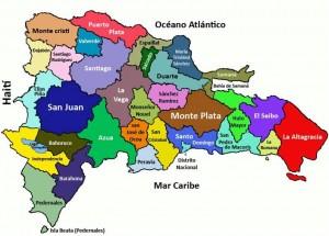 Map Domincana