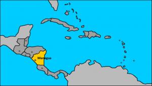 Nicaragua en Centro América