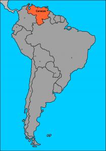 Venezuela en Sudamérica