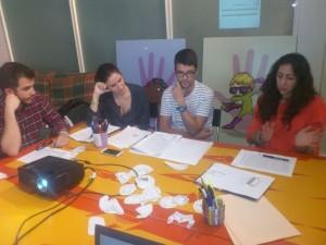 Primera sesión en Valencia