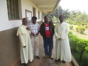 Bishop of Manfe at Nazareth centre