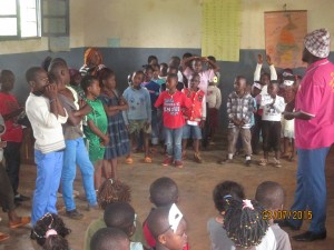 hymn of the 2014/2015 summer camp Bamenda