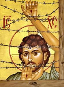 Jesús refugiado