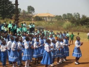 Celebration of Bilingualism day in Bamenda