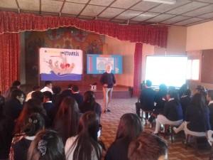 Presentado a los chicos de  4 y 5 de secundaria- Colegio San Rafael