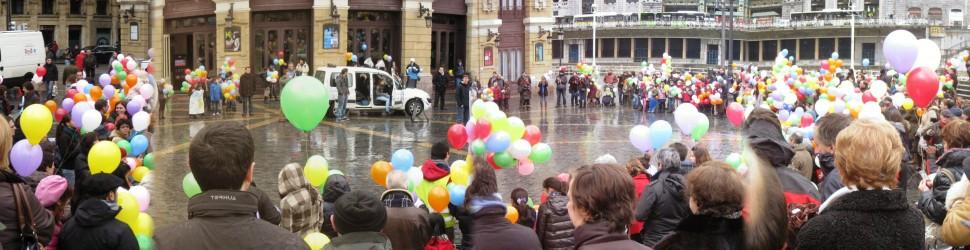 Sensibilización Semana de la Paz 6 Bilbao