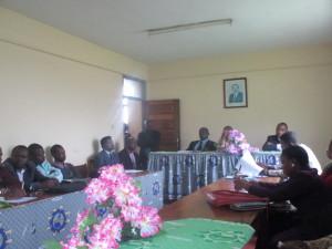 Installation des membres du CRV PEA-Jeunes