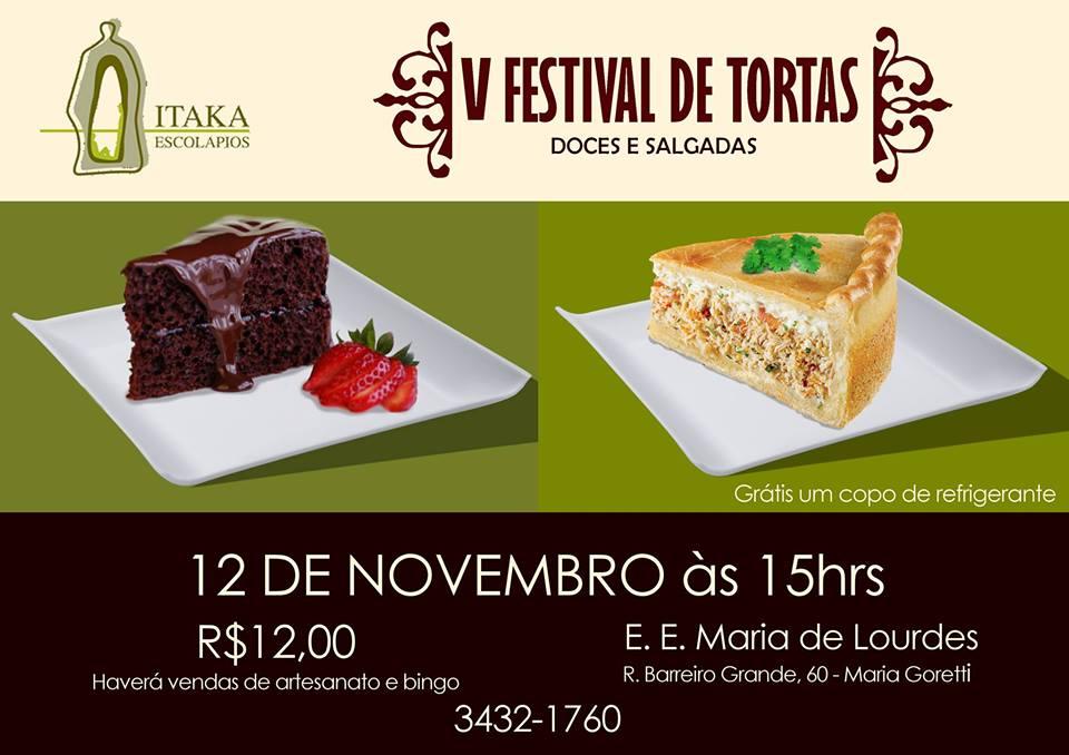 V Festival de Tortas - Itaka BH
