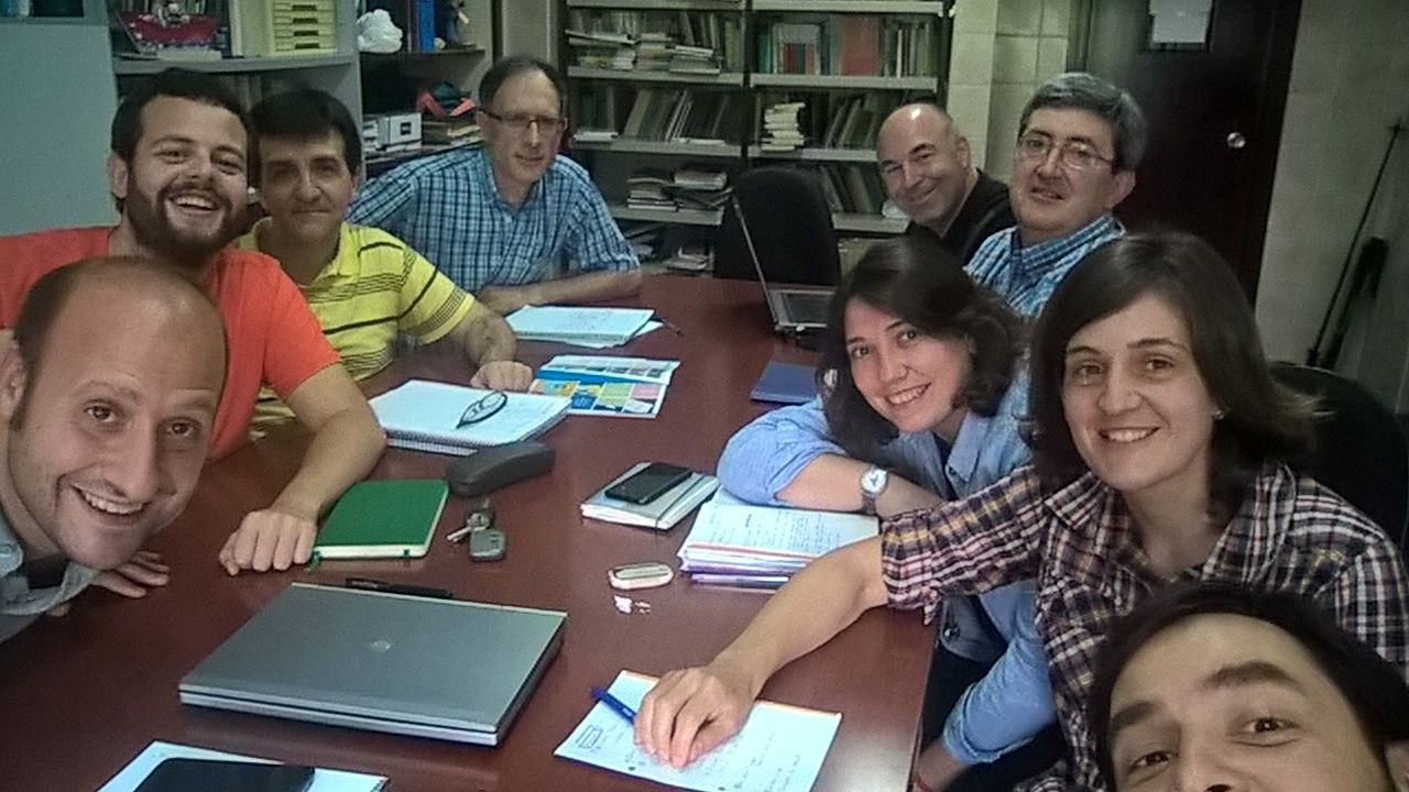 170615.Equipo demarcacional Emaus con equipo de sede Tolosa