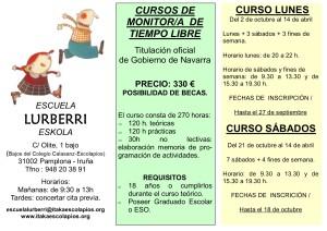 Cursos monitor-a Lurberri