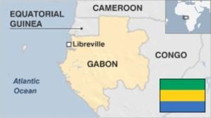 Carte localisation géographique Gabon
