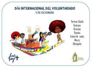 5 Diciembre 2017 - Día Internacional del Voluntariado