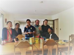 Encuentro Educadores Internados Bolivia