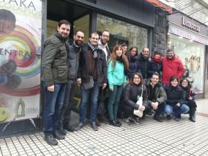 Foto encuentro en sede de Zaragoza