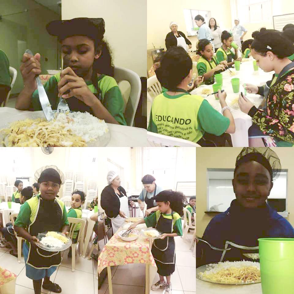 Projeto Culinária - Centro Itaka BH