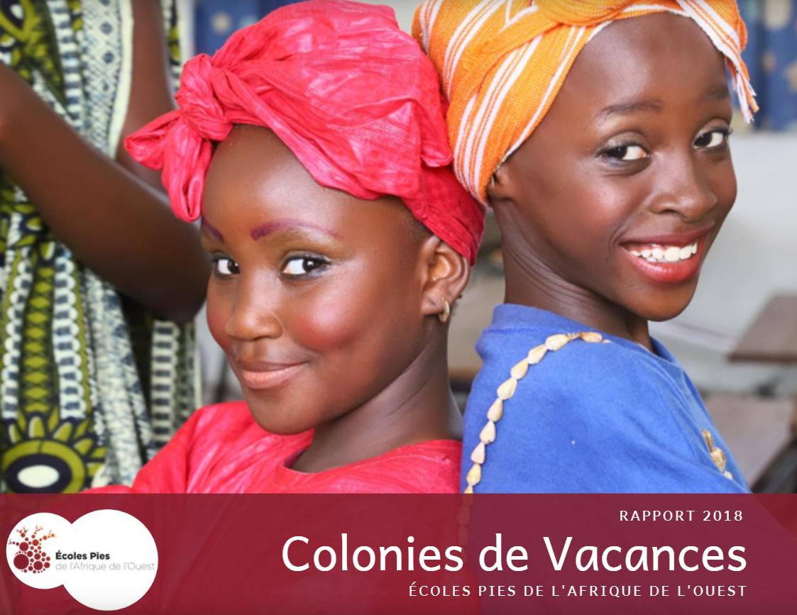 Colonies de Vacances Afrique de l'Ouest 2018