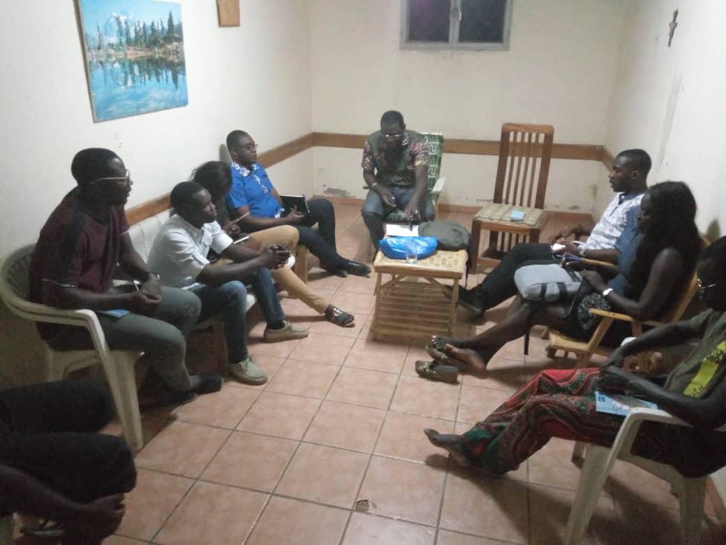 20190116 Reunión oficina Movimiento Calasanz Dakar
