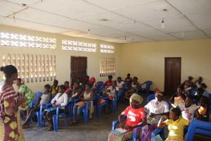 Les femmes de Kikonka en pleine formation