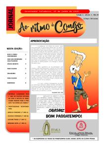 Jornal Ao ritmo do Congo1
