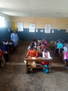 Back to school in Catholic schools in Bamenda